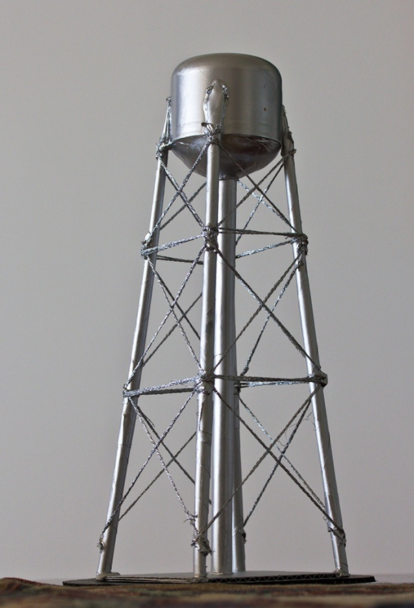 Vesi Torni, Marquette for Water Tower, 2015