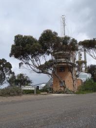 Old navigation tower, Point Henry - beside Olivia Ukuta's installation site